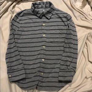 Gap kids super soft button down shirt
